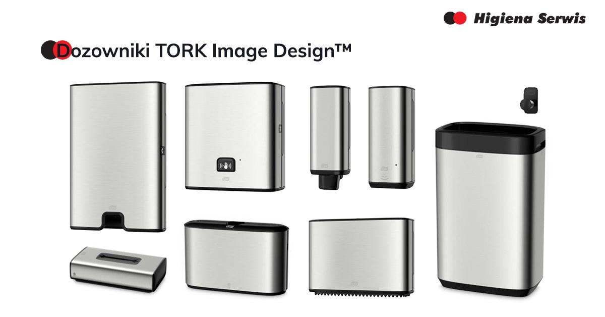 Ekskluzywne dozowniki TORK Image Design